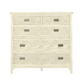 Coastal Living Resort - Haven's Harbor Media Chest In Sail Cloth
