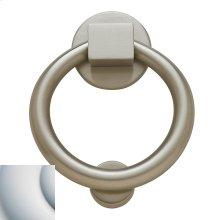 Satin Chrome Ring Knocker