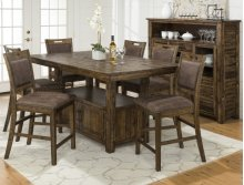 RED HOT BUY-BE HAPPY! Cannon Valley High/low Dining Table Top