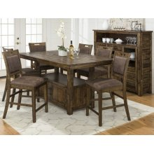 Cannon Valley High/low Table 5pc Set