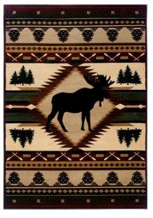 Contours/jq Moose Wilderness Rugs