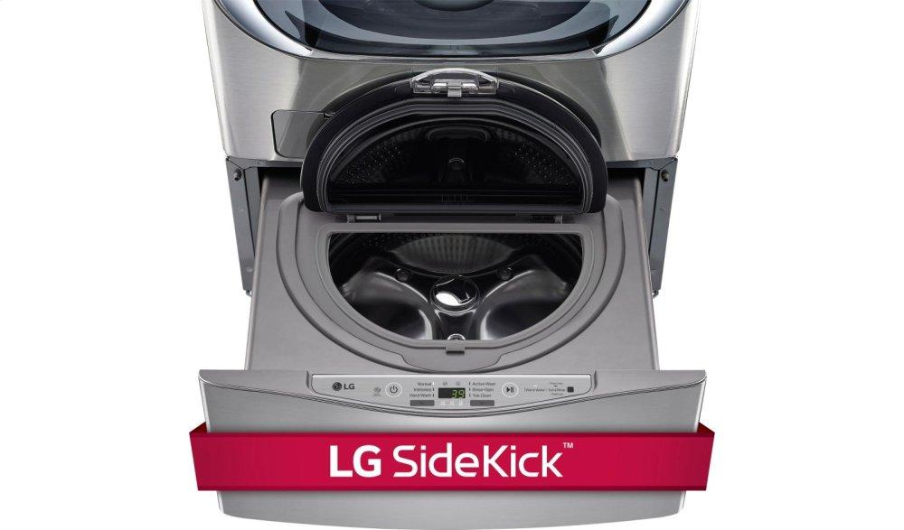 LG Appliances1.0 Cu. Ft. Lg Sidekick™ Pedestal Washer, Lg Twinwash™ Compatible