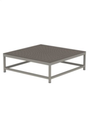 Cabana Club Patterned Square Coffee Table