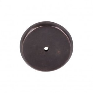 Aspen Round Backplate 1 3/4 Inch - Medium Bronze