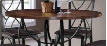 Sanford Merlot Counter Dining Table