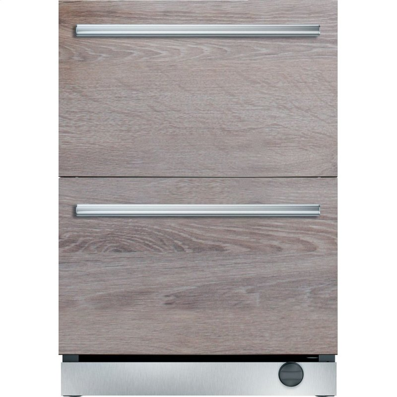 T24uc900dp Thermador 24 Inch Under Counter Double Drawer