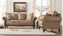 7650 Momentum Khaki Sofa Only