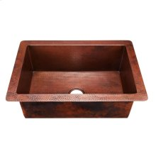 Black Copper Pisa Kitchen Sink
