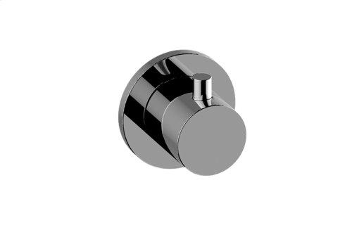 M-Series Round Three-Way Diverter Valve Trim Plate and Handle