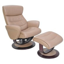 Tetra 15-8018 Pedestal Chair and Ottoman