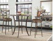 Emmons 3-piece Bar Height Bistro Dining Set