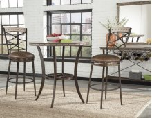 Emmons 3-piece Bar Height Bistro Dining Set