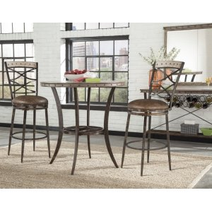 Hillsdale FurnitureEmmons 3-piece Bar Height Bistro Dining Set
