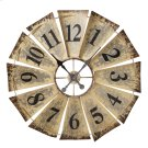 Vintage Fan Wall Clock Product Image
