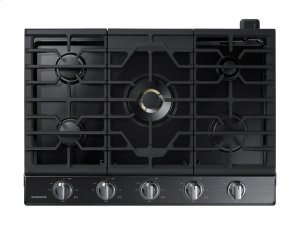 """30"""" Gas Cooktop with 22K BTU Dual Power Burner Product Image"""