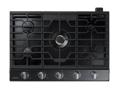 "30"" Gas Cooktop with 22K BTU Dual Power Burner (2016) Product Image"