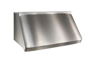 "Centro - 60"" Stainless Steel Pro-Style Range Hood with internal/external blower options"