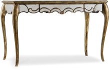 48 1/4 inch Mirrored Writing Desk