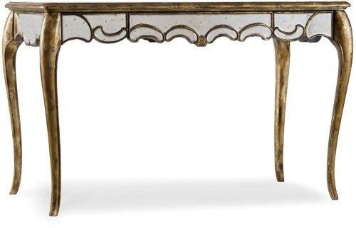48 1/4 inch Mirrored Writing Desk