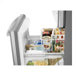 Amana 29-Inch Wide Bottom-Freezer Refrigerator With Easyfreezer™ Pull-Out Drawer -- 18 Cu. Ft. Capacity - Stainless Steel