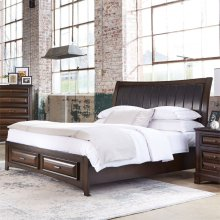 King Panel Headboard and Footboard