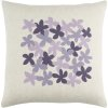 "Little Flower LE-004 18"" x 18"" Pillow Shell with Down Insert"