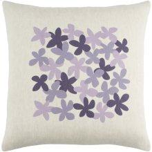 "Little Flower LE-004 18"" x 18"" Pillow Shell Only"