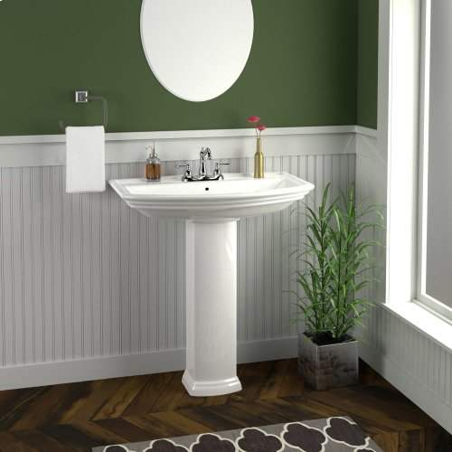 "Washington 765 Pedestal Lavatory - 8"" Widespread"