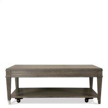 Dara Two - Rectangular Coffee Table - Gray Wash Finish