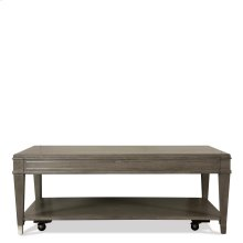 Dara Two - Rectangular Coffee Table - Gray Wash Finish