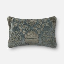 Dr. G Grey / Blue Pillow