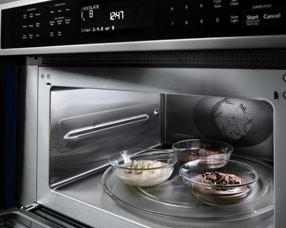 Koce500ess Kitchenaid 30 Combination Wall Oven With Even Heat True