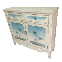 Seaside Coastal Scene Cupboard