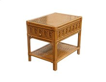 Lamp Table, Available in Tropic Natural Finish Only