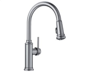 Blanco Empressa Kitchen Faucet With Pulldown Spray - Stainless Finish Product Image