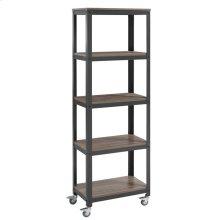 Vivify Bookcase in Gray Walnut