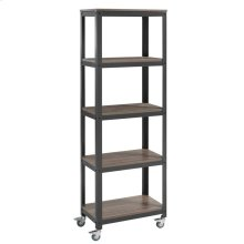Vivify Bookcase in Gray Walnut