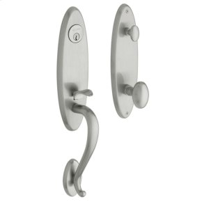 Satin Chrome Blakely Handleset