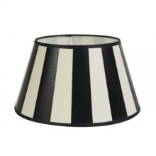 Shade round 25-18-14 cm KING black