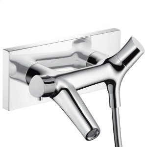 Chrome Thermostatic Wall-Mounted Tub Filler Product Image