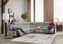 Power RAF Lay Flat Reclining Sofa