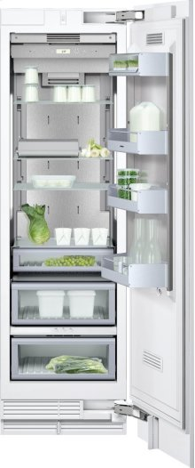 "Refrigeration column RC 462 701 with temperature controlled drawer Fully integrated appliance Width 24"" (61 cm)"