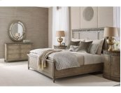 Cal King Katrine Panel Bed 6/0 Complete