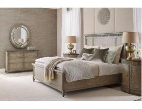 Queen Katrine Panel Bed 5/0 Complete
