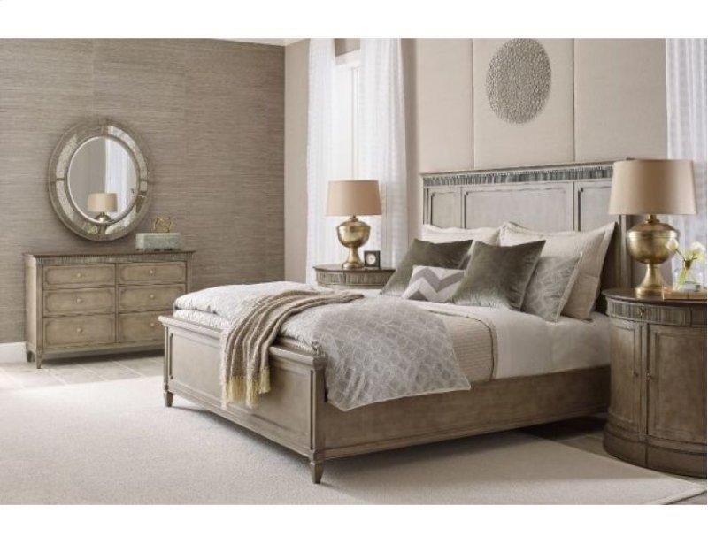 Queen Katrine Panel Bed 5 0 Complete