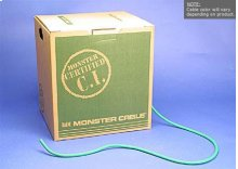 Standard SV-RG6 CL3-Rated Video Cable in EZ-Pull Box - 500ft / Yellow