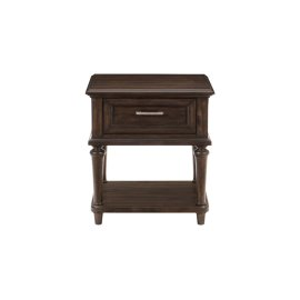 End Table with Functional Drawer