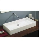 Box 80 Vessel Lavatory in White Product Image