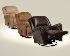 "Chaise ""Swivel Glider"" Recliner - Java"