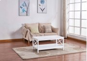 6602 White Coffee Table Product Image